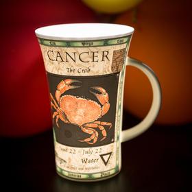 英国原产DUNOON丹侬峡谷型骨瓷茶杯水杯马克杯十二星座