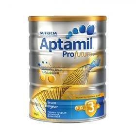 【保税仓】澳洲原装aptamil爱他美白金版婴幼儿3段配方奶粉 1-3岁 900g