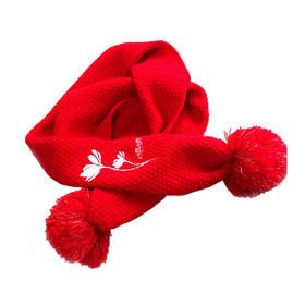 意林小小姐 女生时代 花与梦之诗系列围巾 温暖贴心 莫小西同款围巾 围脖 周边产品