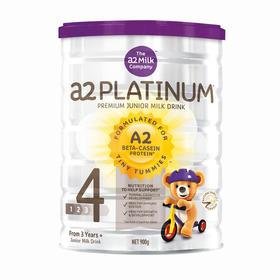 [保税仓]A2白金系列高端奶粉4段 3岁以上  900g