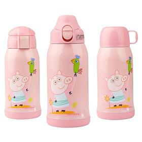 日本KUMAMOT熊本士儿童保温杯620ml 316材质 小猪佩奇