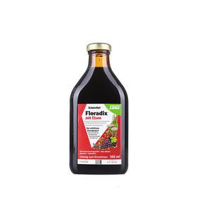 德国 Floradix红版成人铁元补血益气500ml