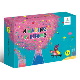 Batbunny彩虹实验,15个项目激发孩子无限的好奇心和探索欲