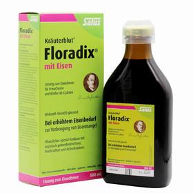 德国Floradix 绿版铁元 500毫升