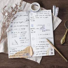 日记一事和纸胶带   文具