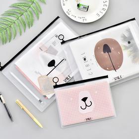 创意可爱熊文件袋    文具