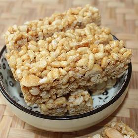 【南海网微商城】海南定安特色美食 纯手工 花生爆米酥 200g/罐