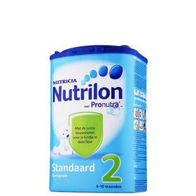 【保税仓】荷兰Nutrilon牛栏婴幼儿奶粉2段 环保纸盒装 6-10个月 850g