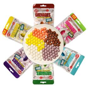 【新光心选】美国Grenades爆炸口香糖超强薄荷提神醒脑呛凉60g/30粒