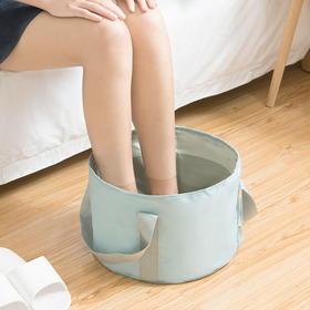 便携式出差旅行泡脚 旅游户外用品 折叠水盆 洗脚盆洗脸盆折叠盆