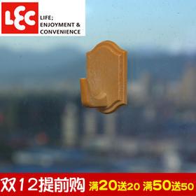 日本丽固LEC 3个装门后无痕粘钩家居强力粘胶挂钩