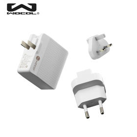玩加智能旅行充电器 4USB接口+2个国际转换头