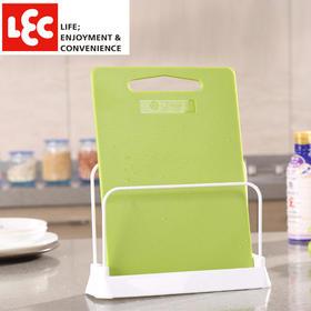 日本丽固LEC 不锈钢厨房砧板架切菜板架子沥水置物架收纳架