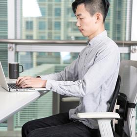 【乔米】爆款|人体工学腰垫|办公、驾车必备|缓解65%腰椎压力