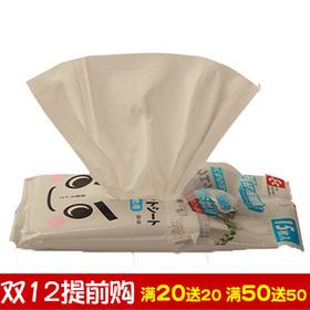 日本丽固LEC 一次性家用玻璃清洁去污湿巾厨房抽取式清洗湿纸巾