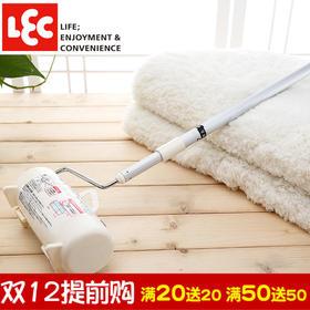 日本丽固LEC 可撕式可伸缩宠物滚筒器除尘器粘尘纸衣物粘毛器