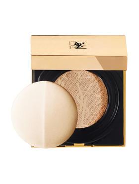 【香港直邮】【色号 B20】法国圣罗兰YSL 超模聚焦系列方形蕾丝光感气垫粉饼15g B20