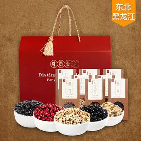 五谷杂粮礼盒3740g 过年送礼 (红豆、薏米、十谷米、黑豆、黑米 )