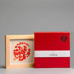 广磊剪纸 | 团花