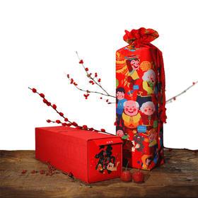 俗画说2018新年新年春联对联礼包礼盒狗年春节贴纸送人