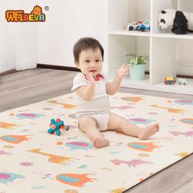 贝瓦韩国原装进口PVC宝宝爬行垫家用婴儿童环保爬爬垫围栏游戏垫