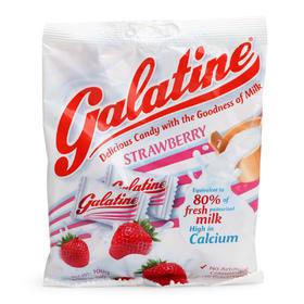 意大利Galatine佳乐锭 草莓味牛奶糖 水果糖 宝宝儿童 零食 糖果