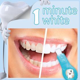 【洁牙革命性产品】金同速白洁牙擦    擦 一擦  60秒告别大黄牙