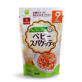 日本Hakubaku黄金大地宝宝辅食营养美味意大利面小碎面不含盐100g