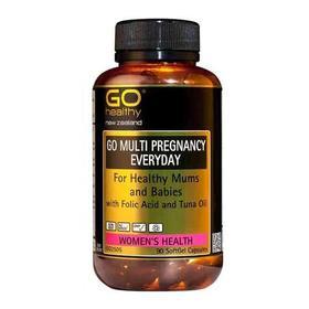 GO Healthy 高之源 孕妇多维生素复合营养胶囊【新西兰直邮】