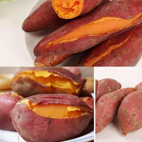 【帮卖助农】正宗赣南红蜜薯5斤,甜糯绵软好吃到爆  农家自种,现挖现发
