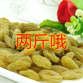 【美货】新疆无核吐鲁番大颗粒葡萄干500g*2包邮
