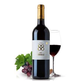 首彩红酒 88西拉干红葡萄酒750ml 果香浓郁