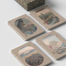 东京浮世绘四季手账,春夏秋冬、一季一本,记录属于你的记忆