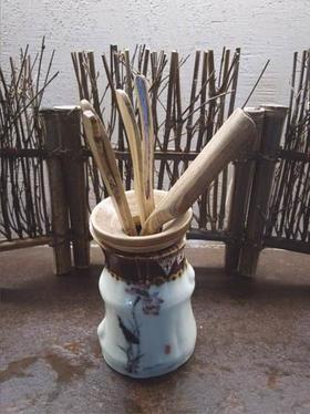 陶制茶道组