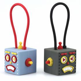 【囧囧有绳】MFI认证Roboto机械人苹果数据线 日本TUNEWEAR激萌钥匙扣充电线