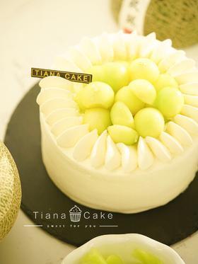 纯醇蜜意 哈密瓜奶油蛋糕