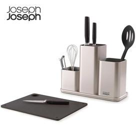 英国Joseph 厨房置物架收纳可沥水刀架刀具置物盒锅铲餐具收纳盒