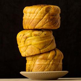 【美货】甘肃特产小吃美食烤馍片传统糕点心面包馒头馍馍5个装包邮
