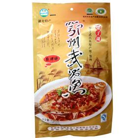 长港鄂州梁子湖武昌鱼麻辣味350g真空即食熟食食品湖北特产