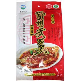长港鄂州梁子湖武昌鱼麻辣味258g真空即食熟食食品湖北特产