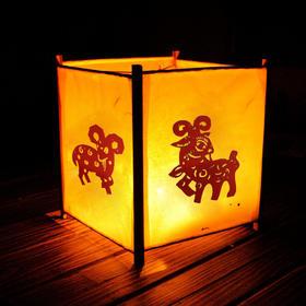 春节元宵手工diy灯笼材料包 制作手提手绘创意空白涂鸦暖场活动