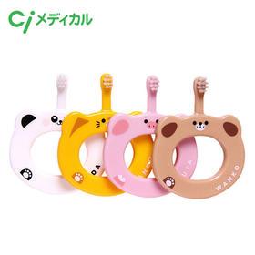 Ci日本原装进口婴幼儿圈圈训练牙刷