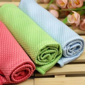 韩国神奇不掉毛抹布,一擦就净,不掉毛、吸水强、易清洁