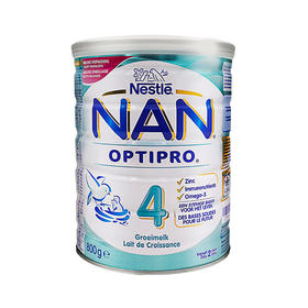 Nestle雀巢NAN能恩婴幼儿标准配方奶粉4段 800g*2 (NAN OPTIPRO 4 800g)