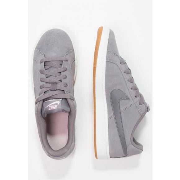 the latest cf22c 3304f 耐克(美国运动品牌) Nike Sportswear COURT ROYALE SUEDE - 女鞋时尚运动鞋低帮- sea coral light  brown vast grey
