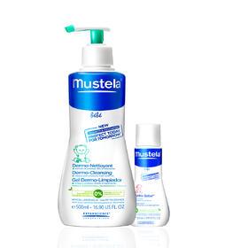 法国Mustela妙思乐贝贝亲肤洗发沐浴露750ml (Mustela Dermo-Cleansing)