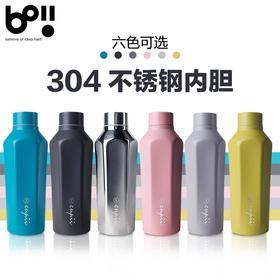 台湾本因Boii不锈钢保温杯男士女士时尚车载水杯学生便携创意杯子