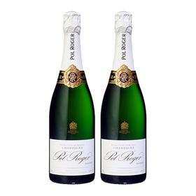 【双支】宝禄爵珍藏天然型香槟, 法国 香槟区AOC 【TwinPack】Pol Roger Brut Réserve, France Champagne AOC