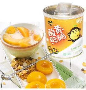 【10号截单】味品堂酸奶黄桃&杂果罐头 绝无农残 防腐剂 甜味剂