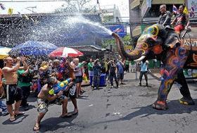 【泰国清迈泼水节】4月12日-4月18日,感受最泰的泰国新年(7天6晚)